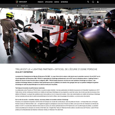Screenshot_2019-05-31 TRILUX est le « Lighting Partner » officiel de l¹écurie d¹usine Porsche
